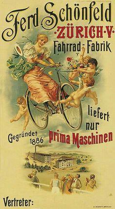 Vintage Stuff and Antique Designs Velo Vintage, Vintage Cycles, Vintage Bikes, Vintage Ads, Vintage Advertising Posters, Vintage Advertisements, Vintage Posters, Illustration Photo, Antique Bicycles