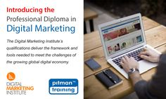 Introducing the Professional Diploma in Digital Marketing in association with the Digital Marketing Institute.