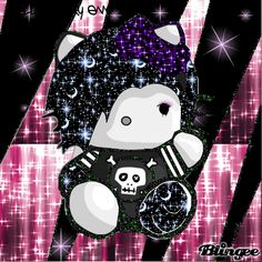 Emo Hello Kitty Anime | hello kitty emo Fotografía #91008295 | Blingee.com