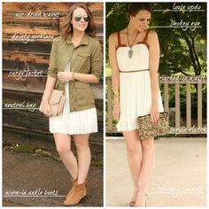 Inspiration look Day to night : Day to Night: LWD