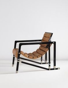 "PHILLIPS : NY050414, Eileen Gray, The Maharaja of Indore's ""Transat"" chair, from Manik Bagh Palace SOLD FOR $1,538,500"