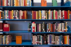 """""""I feel tremendous guilt towards the books I ignore."""" Read more from Michele Filgate on the Library of Unborrowed Books here."""