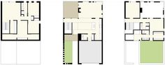 Floor Plans  - Redaction House  i  Johnsen Schmaling Architects
