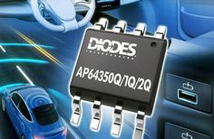 Automotive Compliant 3.5A Synchronous Buck Converters Electronics Components, Power Strip