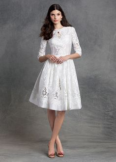 dolce and gabbana winter 2016 woman collection 30 White Dress a018cc6eb89e