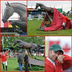 Hickstead statue  amazing.