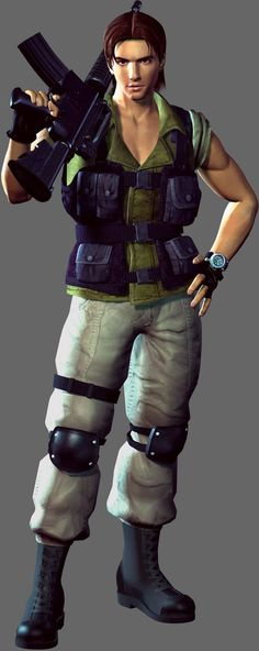 Carlos Oliveira from Resident Evil 3: Nemesis (Convince Erick because he'd be sooo perfect!)  #residentevil #cosplay