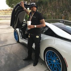 #CelebTuesday - Philthy Rich​ BMW i8​   #PhilthyRich is an American rapper from Oakland, California. Although he has been involved in some minor run-ins with the law, he has continued producing music since 2007. Even though he may not be a household name, his has been successful enough in his career to allow him to pick up a #BMWi8. He has also thrown on a set of custom blue Forgiato wheels to match the blue accents on the i8. We think it actually looks pretty good! What do you think?