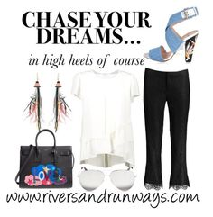 Accessories by riversandrunways on Polyvore featuring Fendi, Yves Saint Laurent, Etro and Victoria Beckham