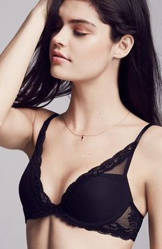 Natori 'Feathers' Underwire Contour Bra | at Nordstrom l  they have my size on file, get thong undies
