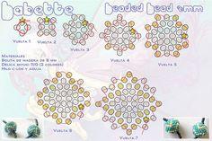 beaded bead 8mm 1 parte | Flickr - Photo Sharing!