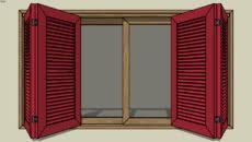 Doors, Windows and Gates Door Molding, Moulding, Sketchup Model, 3d Warehouse, Glass Panels, Outdoor Furniture, Outdoor Decor, Windows And Doors, Locker Storage