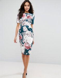 b3190cdcedd7 Discover Fashion Online Blommiga Brudtärna Klänningar, Vintageklänningar,  Dress Outfits, Mode Klänningar, Maxiklänningar