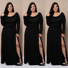 Alicia Black Dress