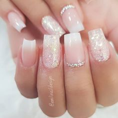 Emili Costa (@emilinaildesign) • Instagram photos and videos Cute Acrylic Nails, Cute Nails, Pretty Nails, My Nails, Elegant Nail Art, Nail Envy, Mani Pedi, Nail Inspo, Christmas Nails