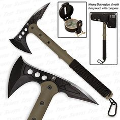 Advanced Combat Tactical Tomahawk - Military Edition w/ Compass