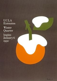 UCLA Extension catalog by Paul Rand (1990)