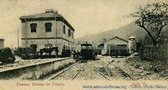 Paesana - Stazione del tram per Saluzzo