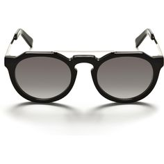 Ashley Benson wearing Sunday Somewhere Heeyeh Sunglasses in Black