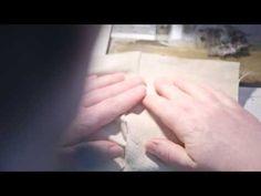 Comment coudre une piqûre morte - YouTube