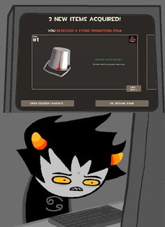 and what makes it worse is Karkat is red........