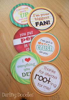 {Free} Teacher Appreciation Gift Ideas: Free tags for gifts  Soda Pop (Orange Crush, A Root Beer, Mountain Dew, Dr.Pepper, 7 Up, )