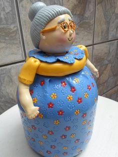 1 million+ Stunning Free Images to Use Anywhere Wine Bottle Art, Diy Bottle, Wine Bottle Crafts, Cute Polymer Clay, Polymer Clay Crafts, Diy Clay, Clay Fairy House, Wood Peg Dolls, Clay Fairies