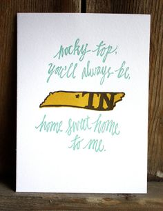 I am a Louisiana girl, but my heart also belongs to Tennessee . : )
