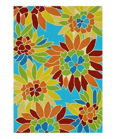 Take a look at this Aquarius Sunshine Rug by Loloi Rugs on #zulily today!