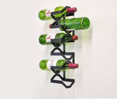 Balanced wine rack