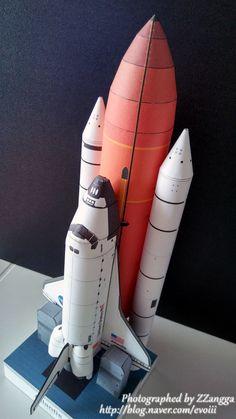 아틀란티스 우주왕복선, Atlantis Space Shuttle, papercraft, 종이모형 Nave Enterprise, Cultura Maker, Paper Rockets, Cardboard Model, Paper Aircraft, Iron Man Art, Mughal Architecture, Cool Paper Crafts, Spaceship Design