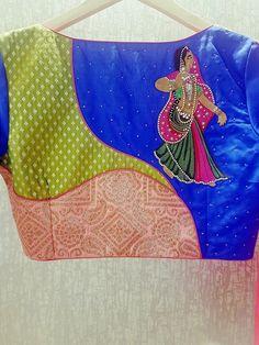 Saree Blouse Neck Designs, Saree Blouse Patterns, Designer Blouse Patterns, Magam Work Designs, Patch Work Blouse Designs, South Indian Blouse Designs, Blouse Desings, Stylish Blouse Design, Blouse Models