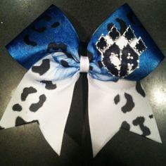 Cheer Athletics Cheetah Bow!