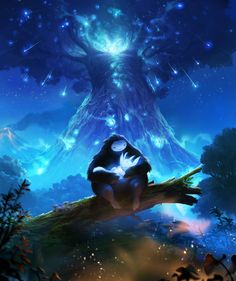 The Annenberg Foundation's Patricia Lanza explores the beauty of 2015's best-looking games. Ori and Naru by Johannes Figlhuber, Max Degen (Ori and the Blind Forest)