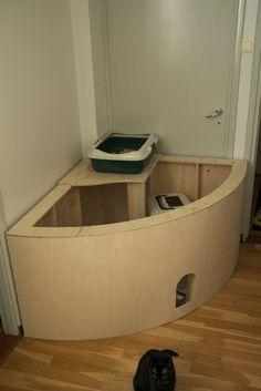 Piilopaikka kissanvessoille Hiding cat toilets