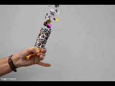 DIY Confetti Party Poppers | DIY Wedding - YouTube