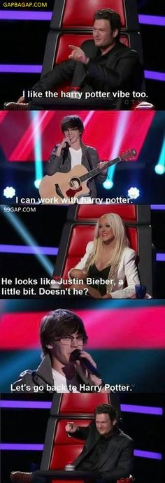 FunnyPictures Of Harry Potter vs. Justin Bieber