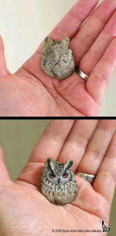 Stone owl