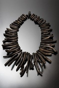 Necklace | Nina Morrow.  Driftwood.