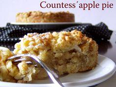 TynaTyna: Countess´ apple pie Apple Pie, Cauliflower, Macaroni And Cheese, Muffin, Homemade, Baking, Vegetables, Breakfast, Ethnic Recipes