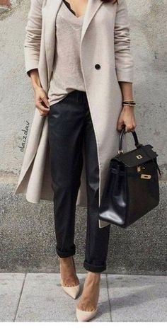 97 Best and Stylish Business Casual Work Outfit for Women - Biseyre - Business casual outfits for women winter - Winter Mode Outfits, Casual Work Outfits, Business Casual Outfits, Winter Outfits For Work, Professional Outfits, Work Casual, Cool Outfits, Office Outfits, Outfit Work