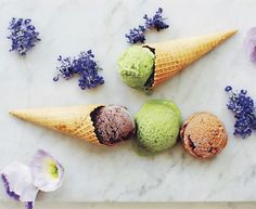 "Recipe: Mint Chocolate Chip ""Nice"" Cream- http://bit.ly/1G5pltB"