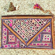 Beatiful banjara purse  Beautiful embroidery multicolored banjara purse hand made  boho hippie Iyari corazon  Bags