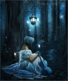 Night Song.. by moonchild-ljilja.deviantart.com on @deviantART