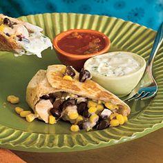 Skillet-Grilled Burritos Recipe