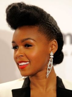 Celebrities who rock natural hairstyles