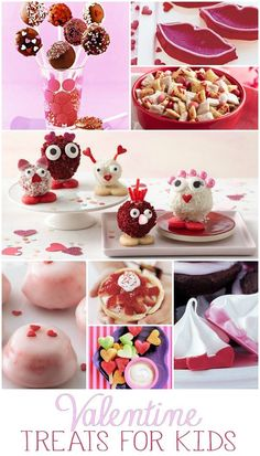 Easy Valentine Treats for Kids. So cute and easy and your kids will love these!!