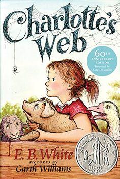 Charlottes Web by E B White http://www.amazon.ca/dp/0064400557/ref=cm_sw_r_pi_dp_qIO4tb0DRFFSW