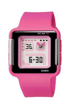 Casio Women's LCF20-4 Ana-Digi Retro Square Sports Watch Casio. $39.40. Water-resistant to 165 feet (50 M). LED light with afterglow. World time, 4 daily alarms and 1 snooze alarm. Countdown timer, stopwatch, 12 and 24 hr formats. Analog and digital display, retro square case
