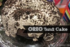 Lets Get Bananas!: Taste of Tuesday: Oreo Bundt Cake